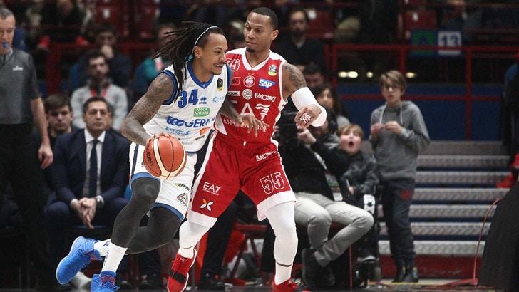 Basket Serie A, Milano ferma la capolista Brescia