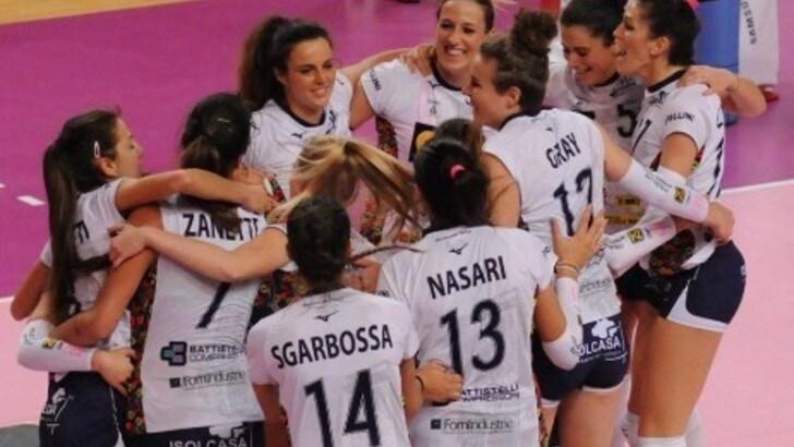 Volley: A2 Femminile, Mondovì vince il derby e riporta Cuneo in gruppo