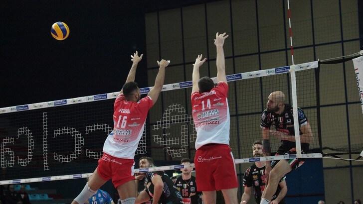 Volley: Superlega, Castellana Grotte ferma la Lube, Perugia si riprende la vetta