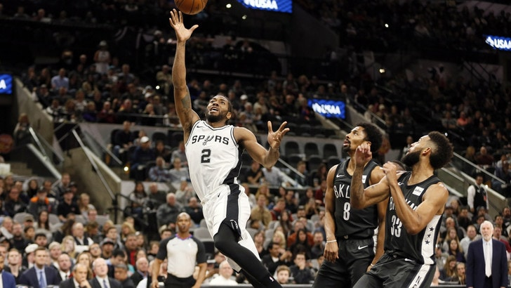 Leonard spegne i Nets, gli Spurs stanno tornando