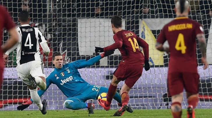 Li mortaSchick! L'errore in Juventus-Roma diventa tormentone