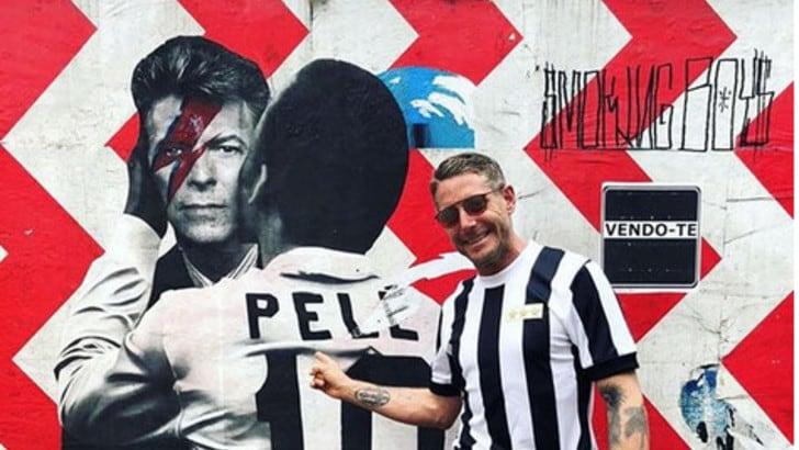 Lapo Elkann: «La Juve viaggia...». E saluta dal Brasile