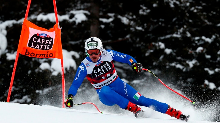 Sci, altro podio per l'Italia: Fill secondo nella combinata di Bormio