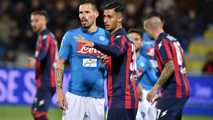 Coppa Italia: Napoli avanti tutta contro l'Atalanta