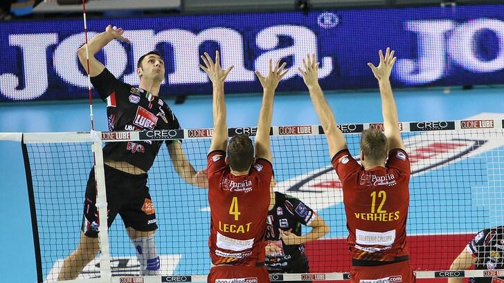 Volley: Superlega, vincono Perugia, Civitanova e Modena, in testa non cambia nulla
