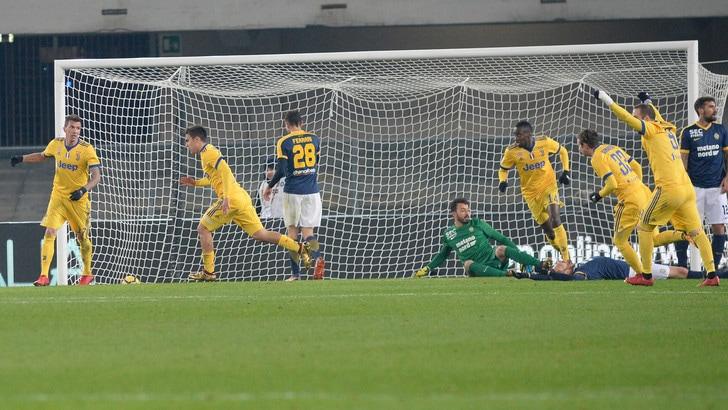 Serie A Verona-Juventus 1-3, il tabellino