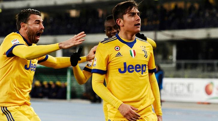 Juventus, la doppia Joya: ritrova Dybala e il Napoli a -1
