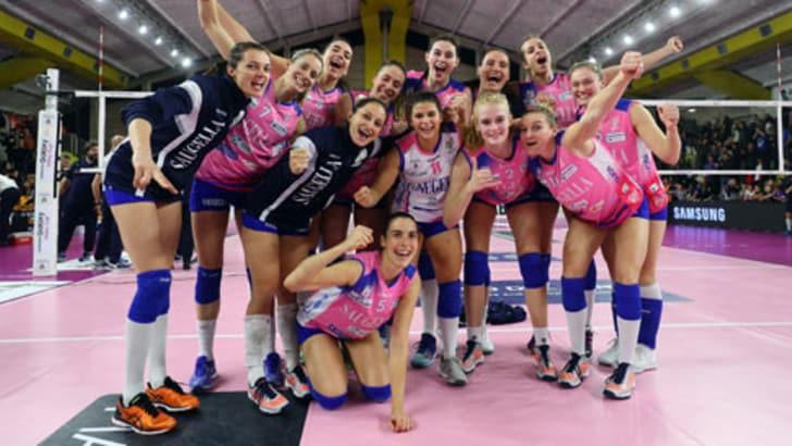 Volley: Coppa Italia Femminile, passano Novara, Busto, Monza e Conegliano