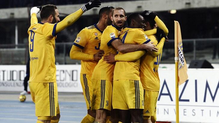 Serie A, scudetto: la Juve batte il Napoli nelle quote