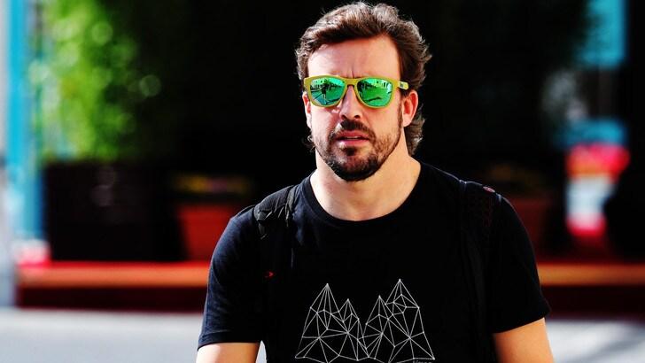 F1, per Alonso primi test a Daytona