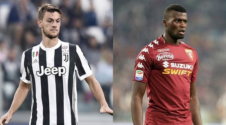 Juventus-Torino, notte di esami per Rugani e Niang