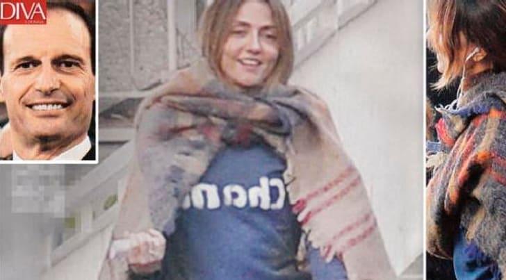 Ambra Angiolini, pancino sospetto. Per Allegri è una fake news