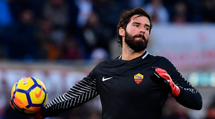 Serie A Alisson: «Voglio vincere con la Roma»