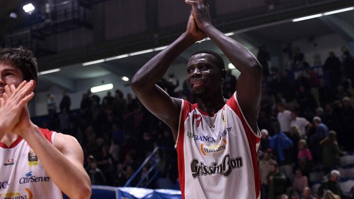 Basket Serie A, Sanè lascia Reggio e passa ad Andorra