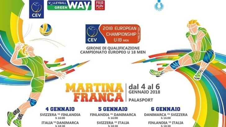 Volley: l' U. 17 Femminile e U.18 Maschile si giocano la qualificazione agli Europei