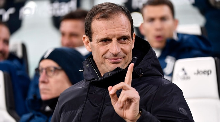 Juventus, Allegri: «Ora l'Atalanta. Il Var? Non commento»