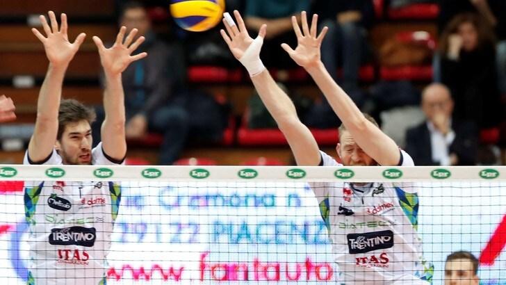 Volley: Superlega, nella 2a di ritorno Perugia-Verona e Civitanova-Ravenna
