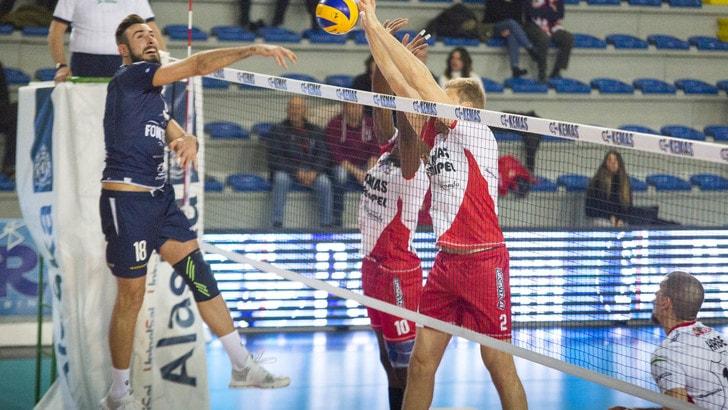 Volley: A2 Maschile, Girone Bianco: Roma e Santa Croce procedono a braccetto