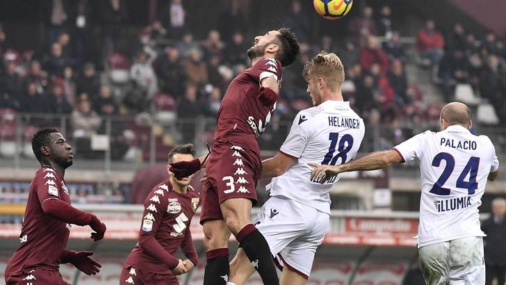Serie A Torino-Bologna 3-0, il tabellino