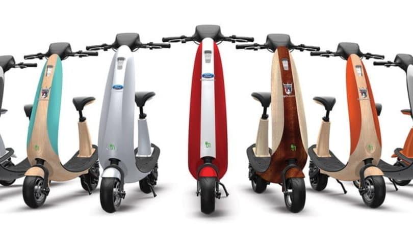 Ford, ecco lo scooter elettrico