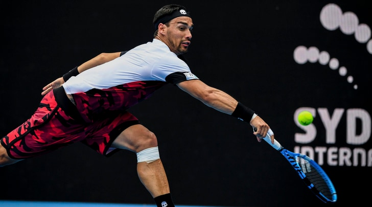 Tennis, Sydney International: Fognini in semifinale, out Lorenzi