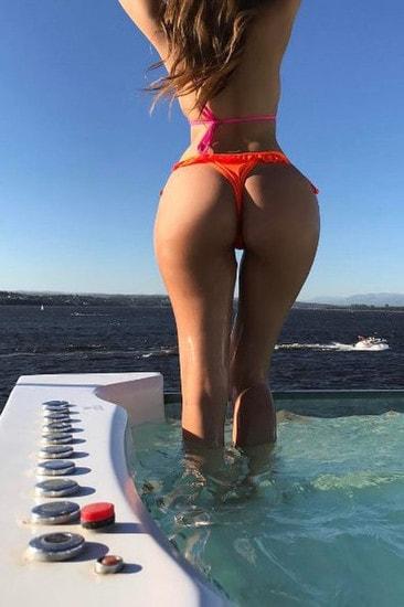 Charlotte, figlia dell'ex giocatore argentino, fa impazzire i suoi fan su Instagram