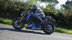 """Suzuki GSX-S 750: la """"Superbike"""" nuda"""