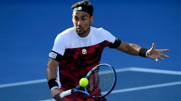 Tennis, torneo Sydney: niente finale per Fabio Fognini