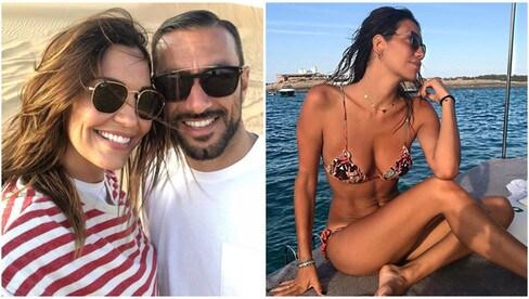 Fabio Quagliarella e Debora Salvalaggio, fuga d'amore a Dubai