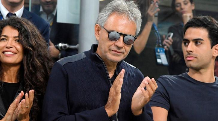 Bocelli: «Sono interista, ma soprattutto antijuventino»