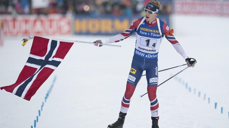 Biathlon:a Norvegia staffetta Rupholding