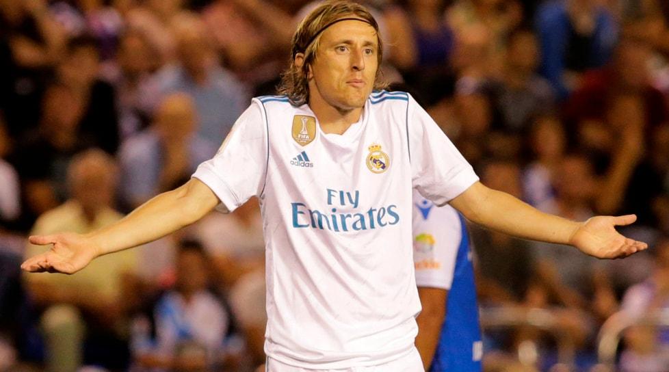 7. Modric, Real Madrid, 500 milioni