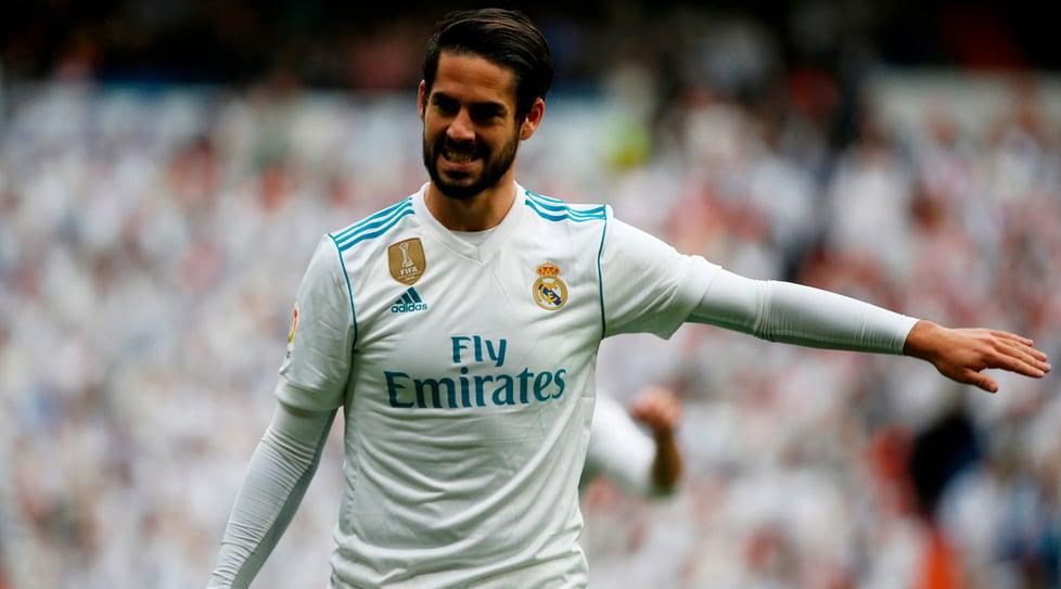 4. Isco, Real Madrid, 700 milioni