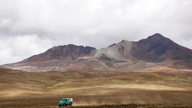 Dakar, 700 km nel fango della Bolivia