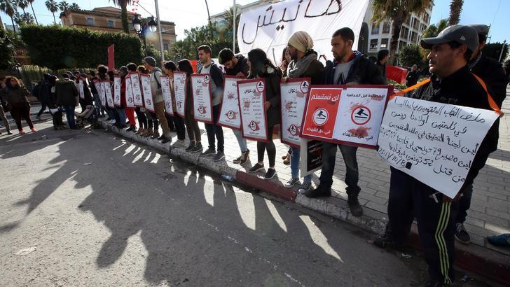 Tunisia celebra Rivoluzione Gelsomini