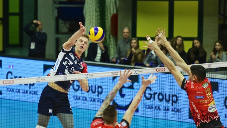 Volley: Superlega, la capolista Perugia espugna anche Monza