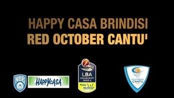 Happy Casa Brindisi-Red October Cantù