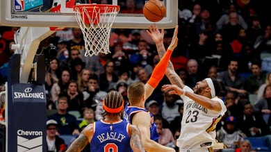 Davis incanta il Garden, Knicks ko all'overtime
