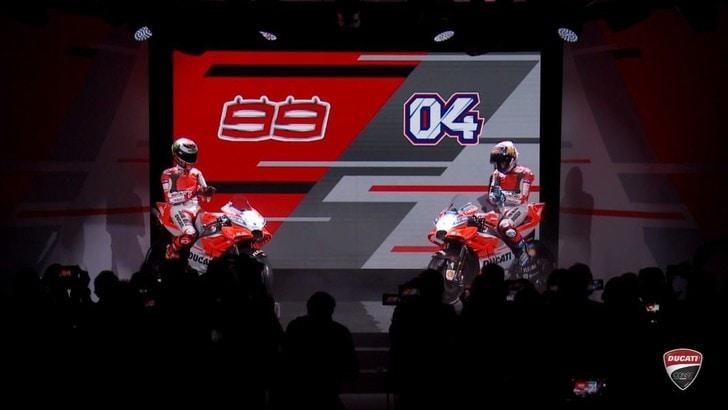 MotoGp Ducati, ecco la nuova Desmosedici: «Un anno meraviglioso»