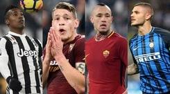 Serie A, si ricomincia: cosa va e cosa no in ogni squadra