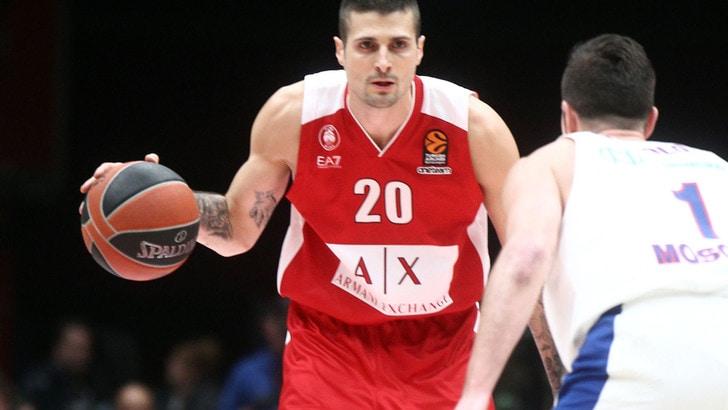 Eurolega, Armani favorita con Malaga