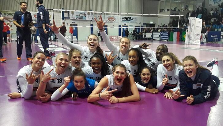 Volley: A2 Femminile, a Marsala il tie break sorride al Club Italia