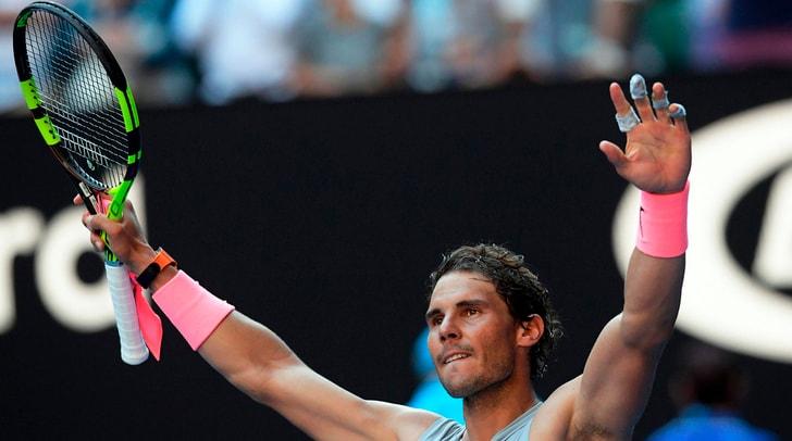 Australian Open: vittoria facile per Nadal e Cilic, soffre Tsonga