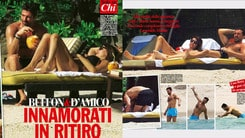 Buffon e Ilaria D'Amico, le foto delle vacanze a Mauritius