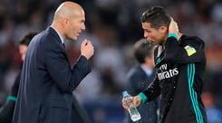 Zidane: «Non mi immagino un Real Madrid senza Ronaldo»