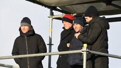 Nedved, Puyol, de la Peña e Chimenti. Cosa ci fanno in tribuna a Vinovo?
