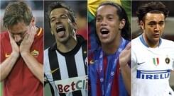 Da Ronaldinho a Del Piero: gli ultimi grandi a dire addio al calcio