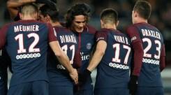 Ligue1, Psg-Dijon 8-0: record di Cavani e poker di Neymar