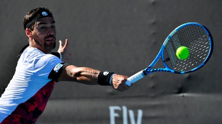 Australian Open, Fognini batteDonskoy e vola al terzo turno