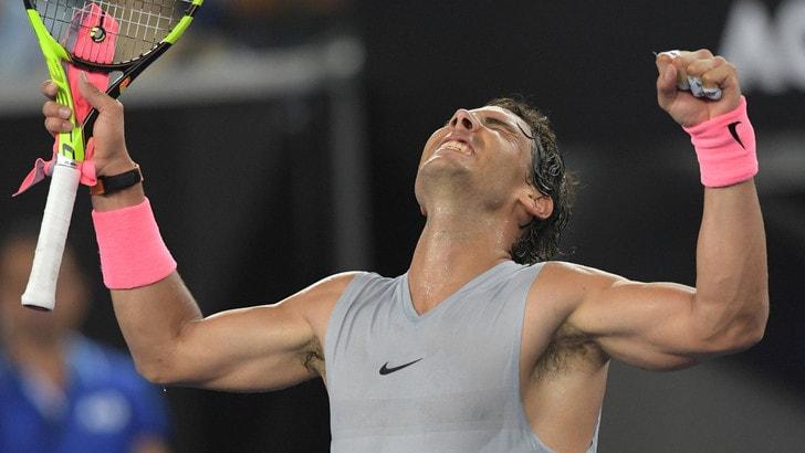 Australian Open, Nadal e Dimitrov volano agli ottavi